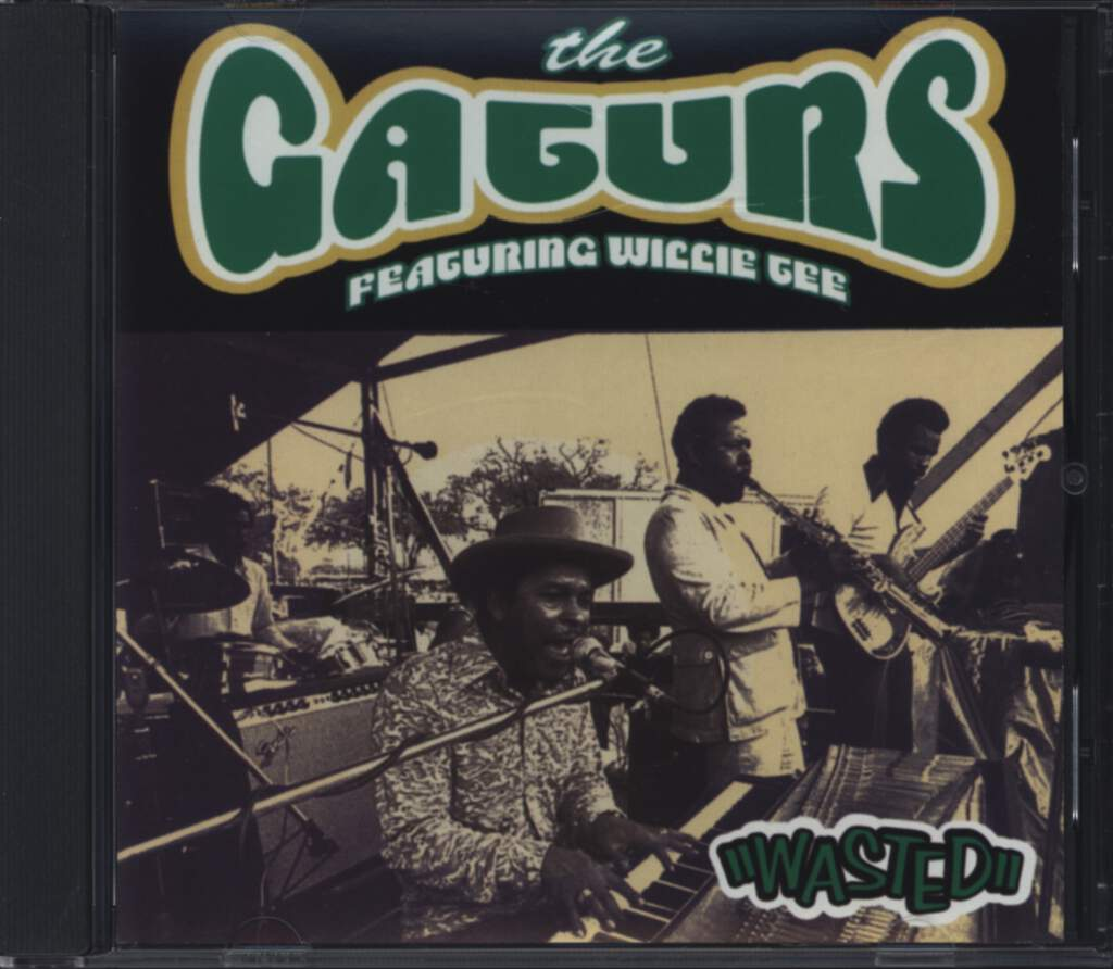 The Gaturs: Wasted, CD