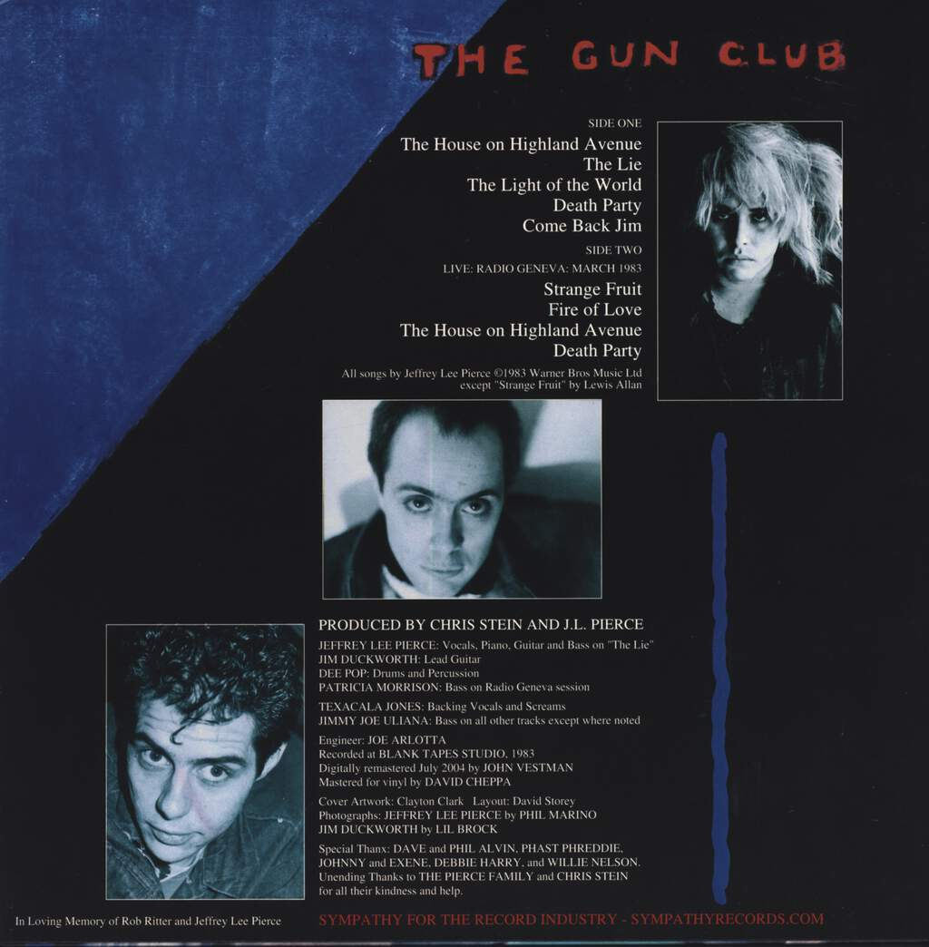 The Gun Club: Death Party, LP (Vinyl)