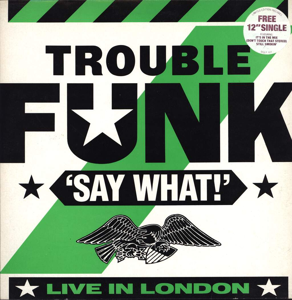 Trouble Funk: Say What?, LP (Vinyl)