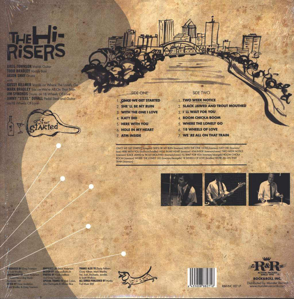 The Hi-Risers: Once We Get Started, LP (Vinyl)