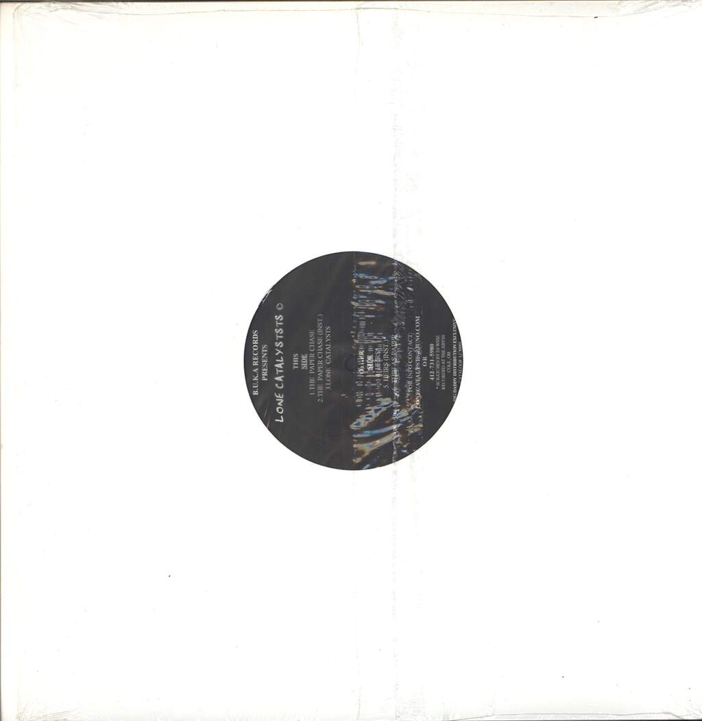 "Lone Catalysts: The Paper Chase, 12"" Maxi Single (Vinyl)"