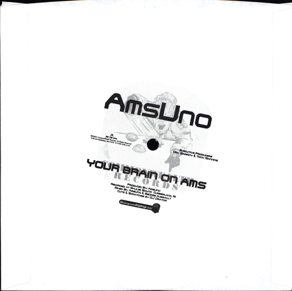 "Ams Uno: Your Brain On Ams / Brinstone & Fire, 7"" Single (Vinyl)"