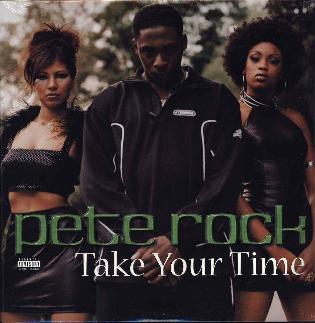 "Pete Rock: Take Your Time, 12"" Maxi Single (Vinyl)"