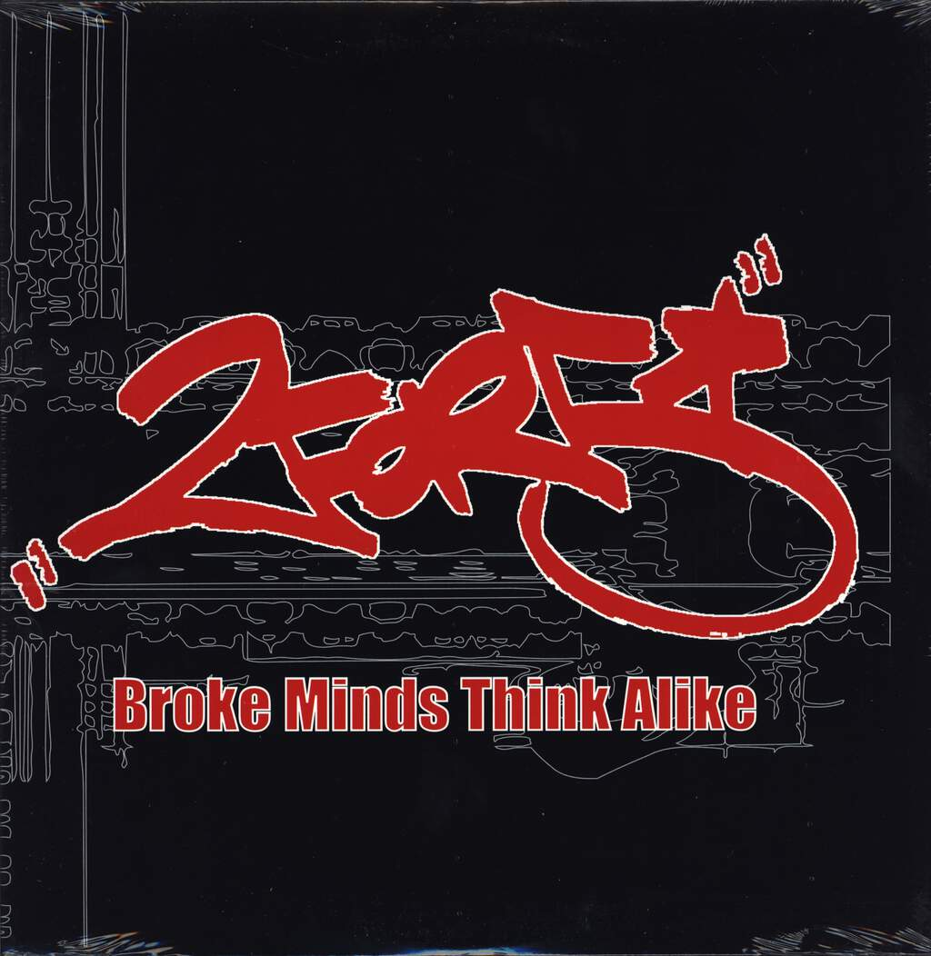 "2for5: Broke Minds Think Alike, 12"" Maxi Single (Vinyl)"
