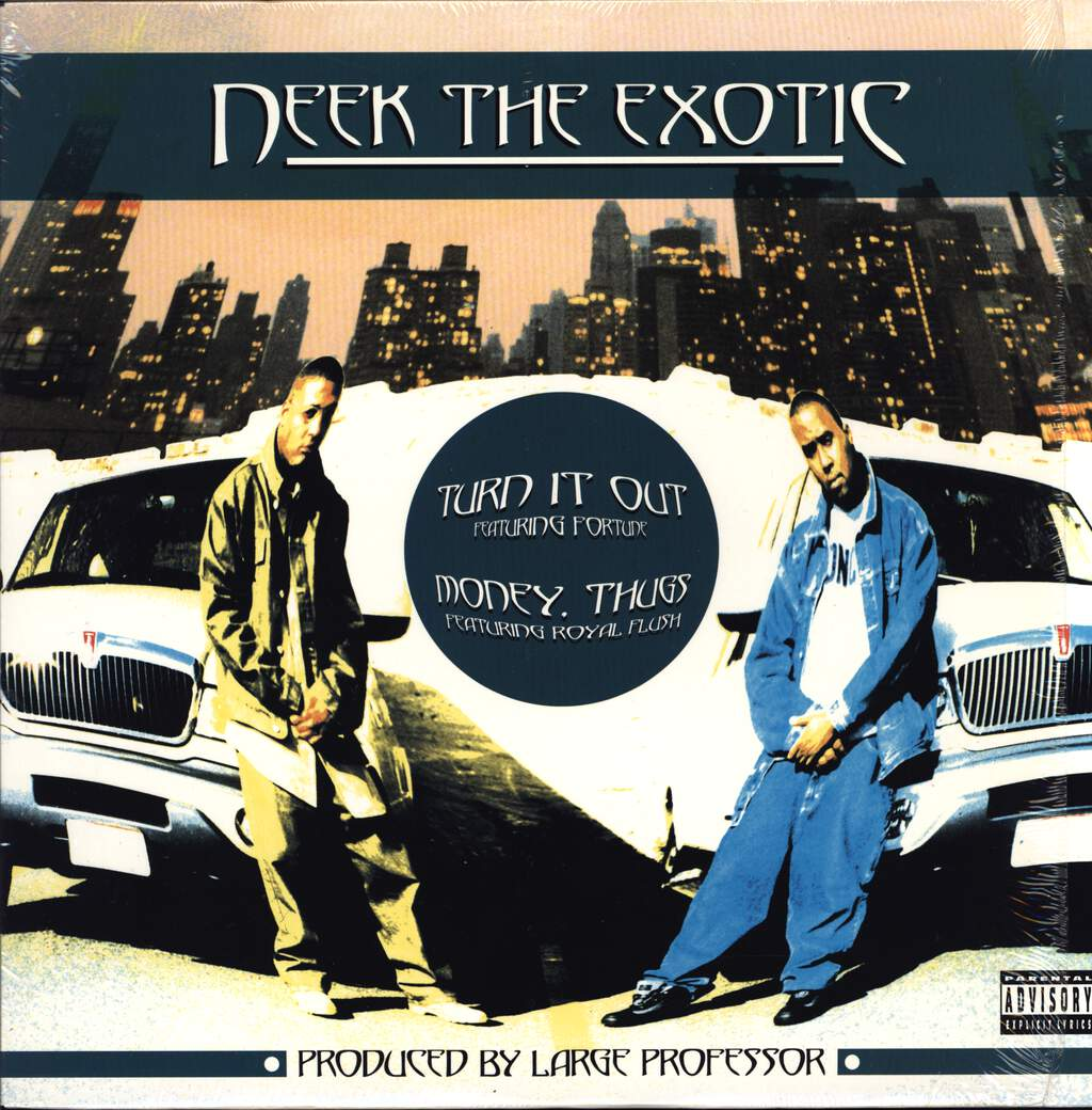 "Neek the Exotic: Turn It Out / Money, Thugs, 12"" Maxi Single (Vinyl)"