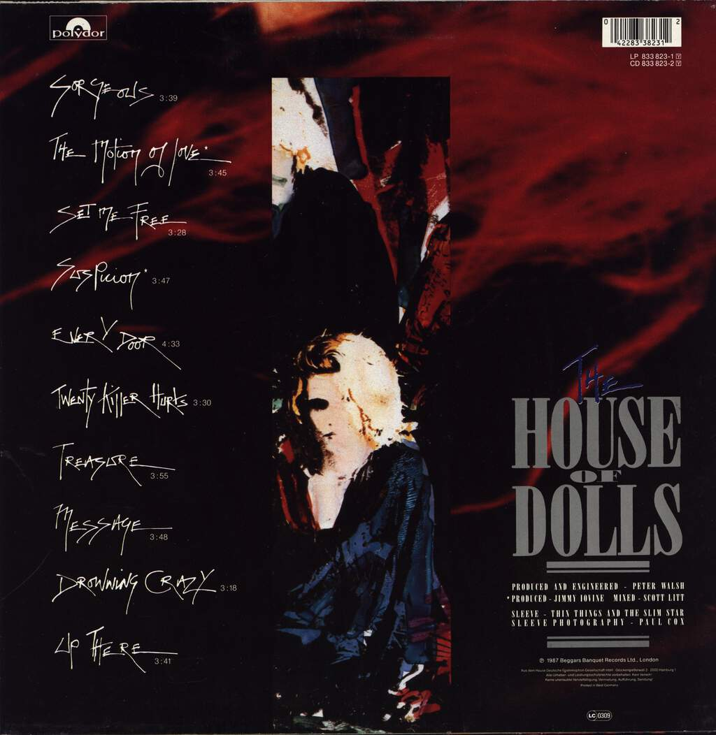 Gene Loves Jezebel: The House Of Dolls, LP (Vinyl)