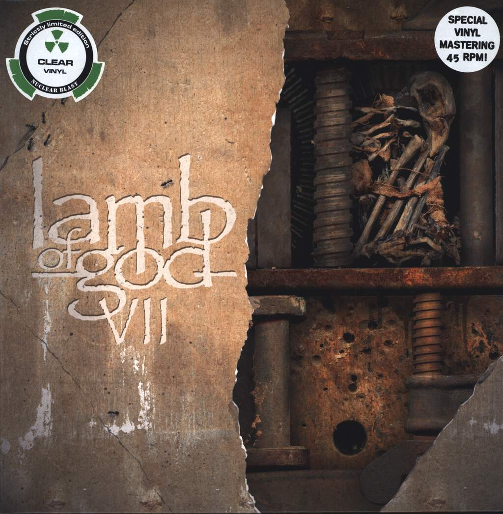 Lamb Of God: VII: Sturm Und Drang, LP (Vinyl)