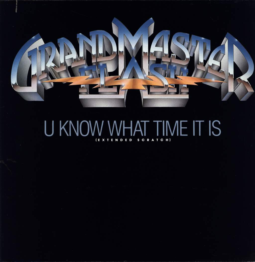 "Grandmaster Flash: U Know What Time It Is, 12"" Maxi Single (Vinyl)"