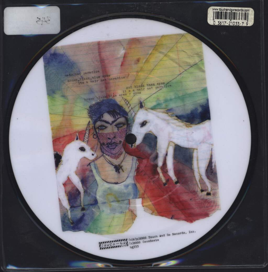 "Cocorosie: God Has A Voice She Speaks Through Me, 7"" Single (Vinyl)"