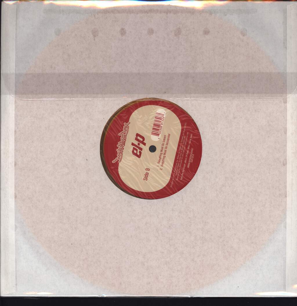 "El-P: Everything Must Go, 12"" Maxi Single (Vinyl)"