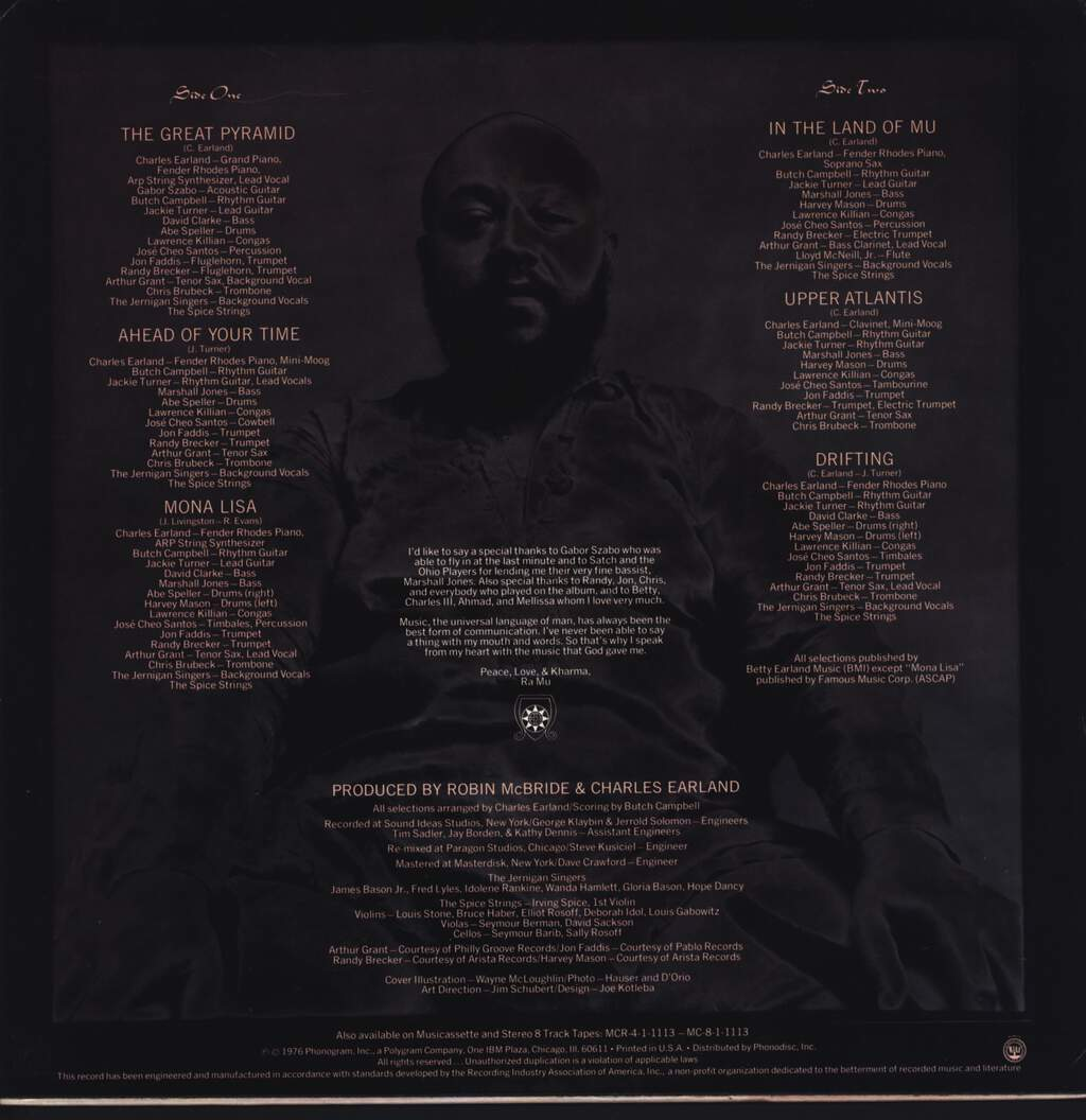 Charles Earland And Odyssey: The Great Pyramid, LP (Vinyl)