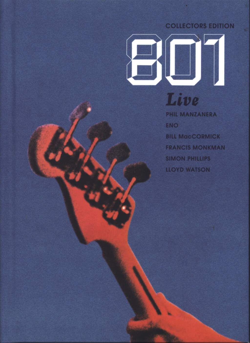 801: Live - Collector's Edition, CD