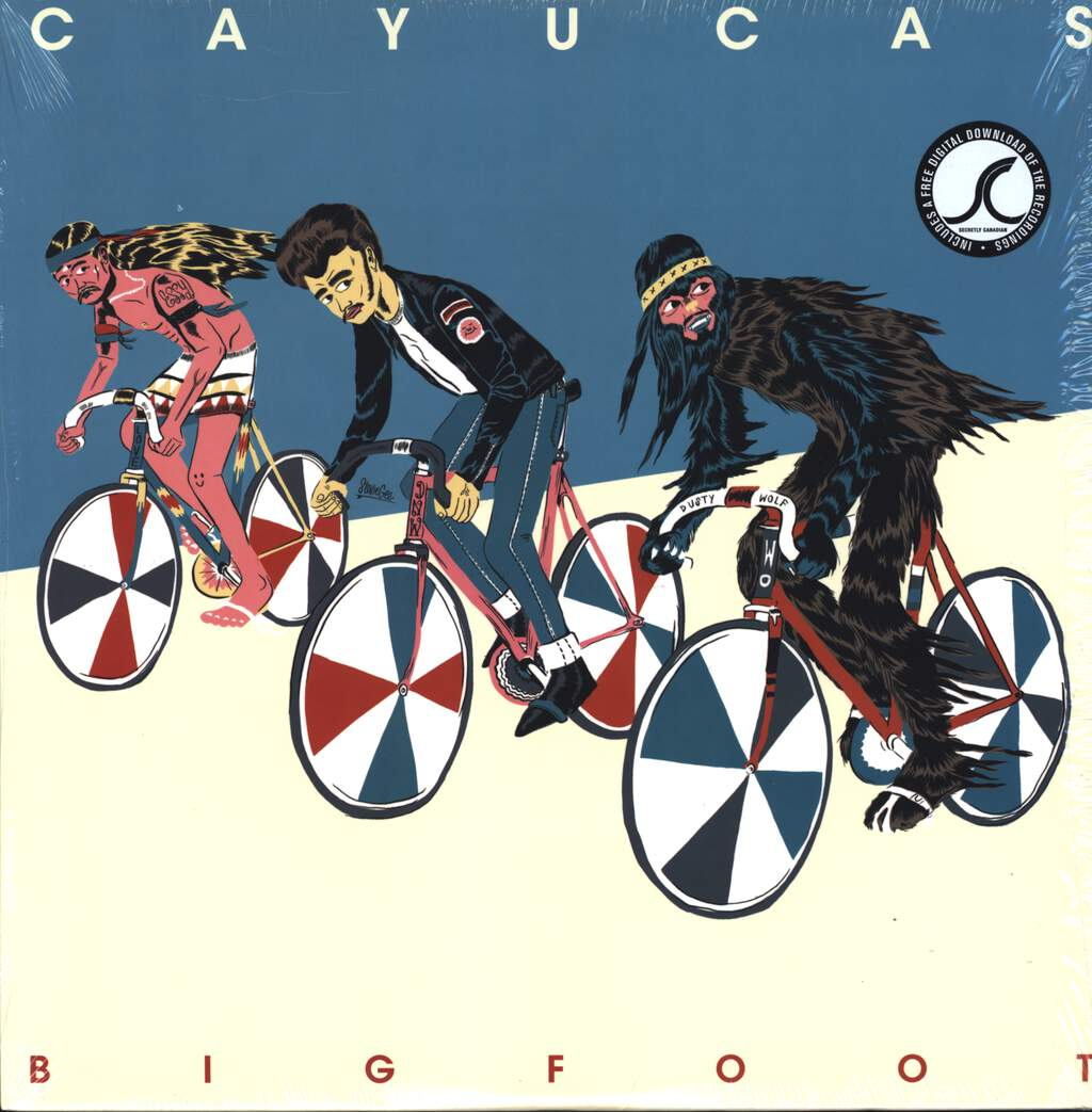 Cayucas: Bigfoot, LP (Vinyl)