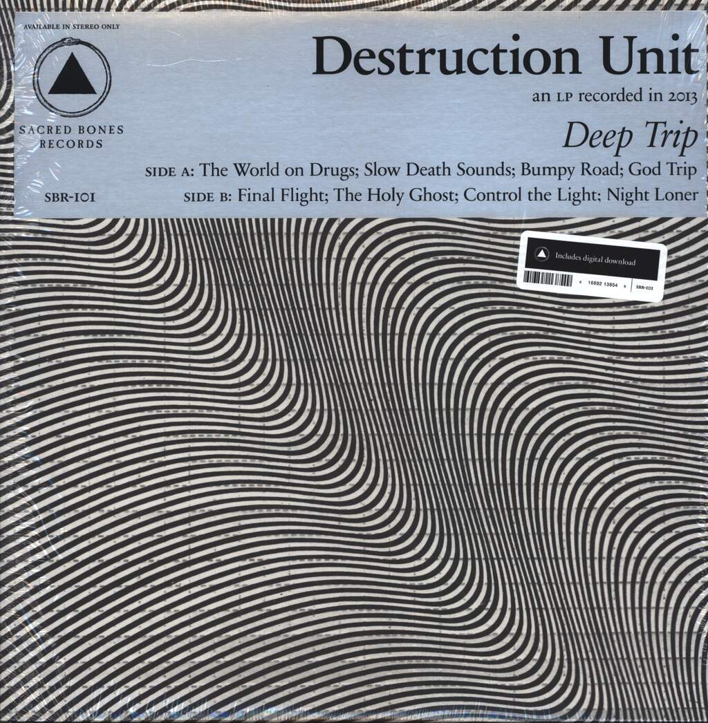 Destruction Unit: Deep Trip, LP (Vinyl)