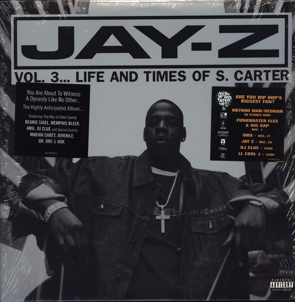 Jay-Z: Vol  3    Life And Times Of S  Carter