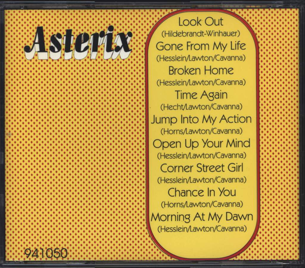 Asterix: Asterix, CD