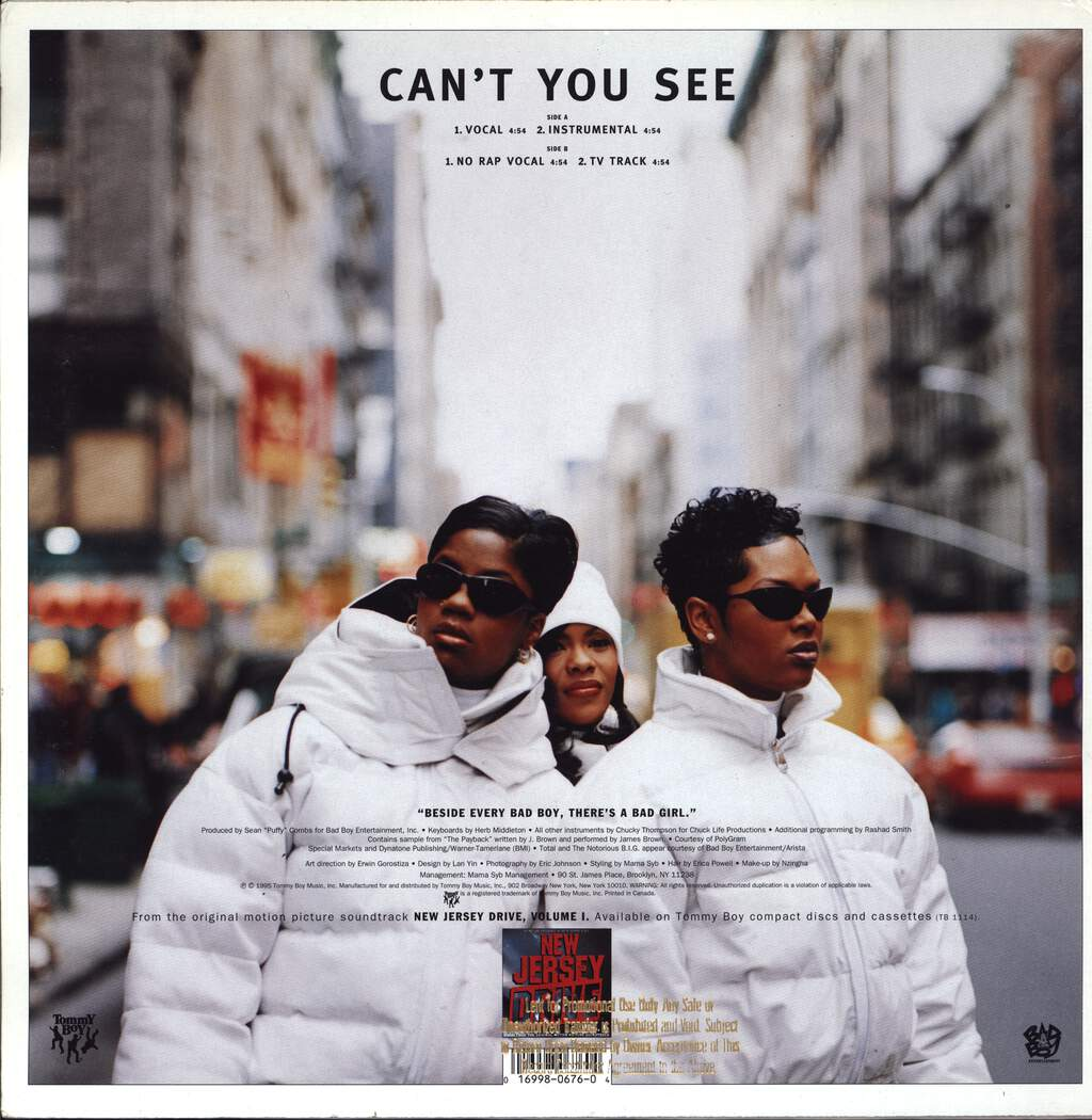 "Total: Can't You See, 12"" Maxi Single (Vinyl)"