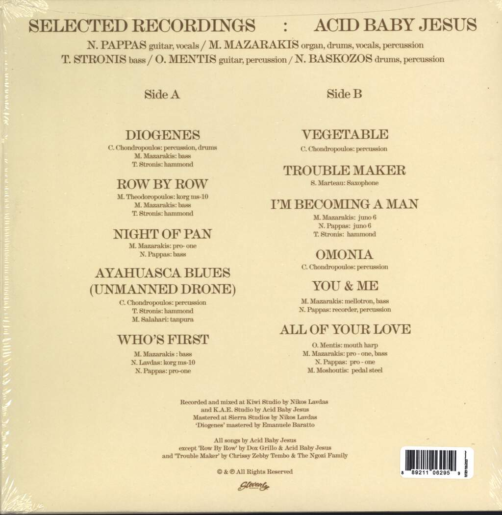 Acid Baby Jesus: Selected Recordings, LP (Vinyl)