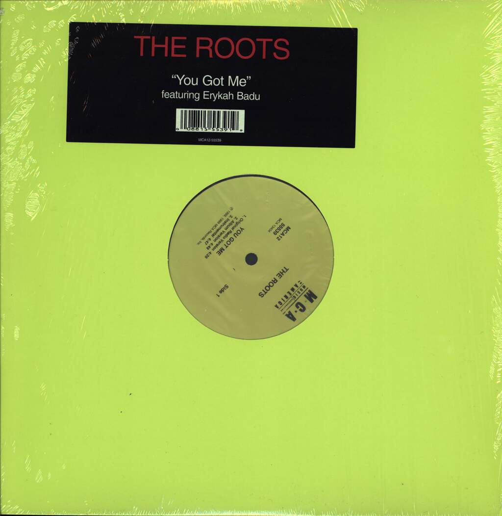 "The Roots: You Got Me, 12"" Maxi Single (Vinyl)"