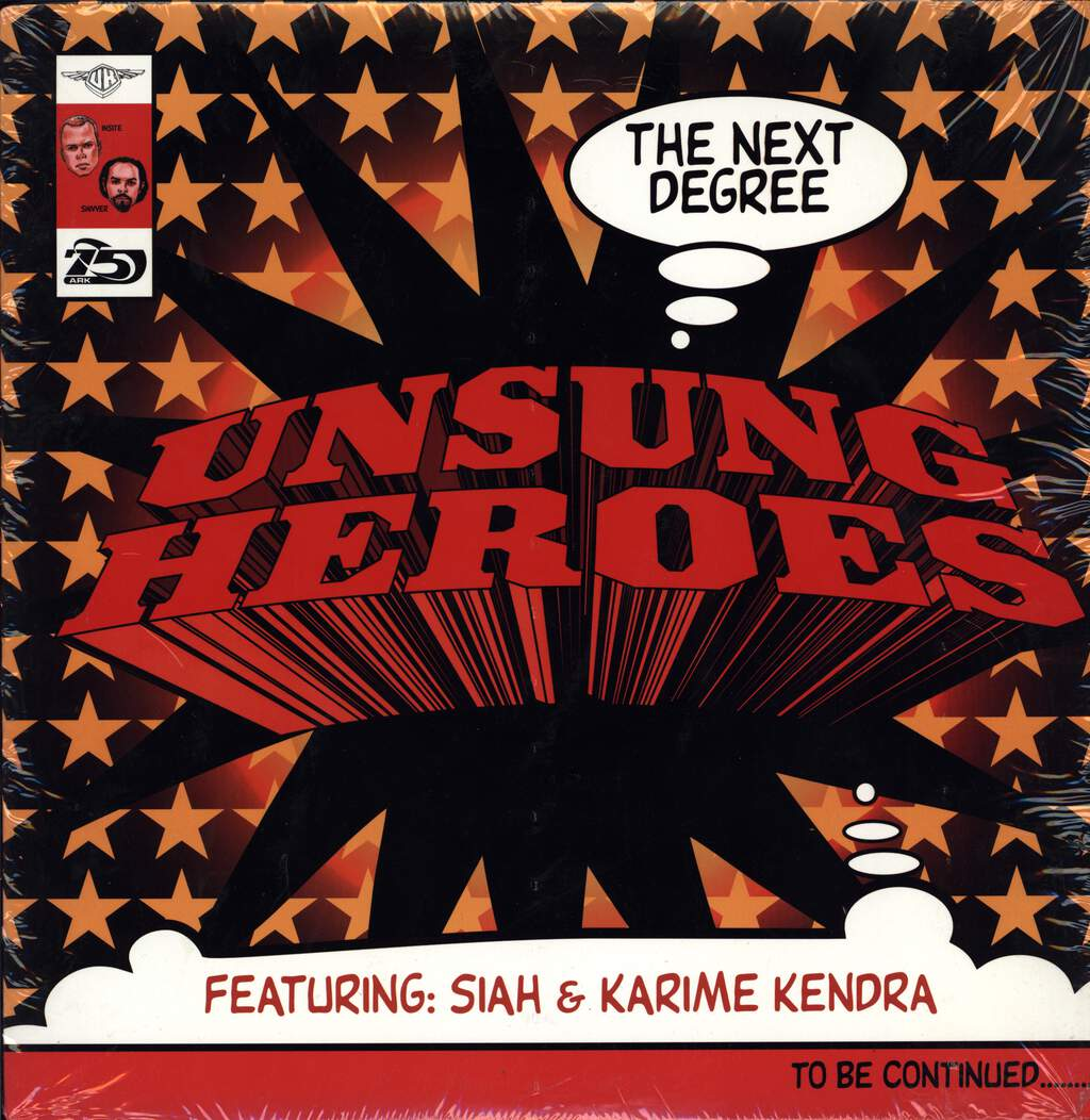 "Unsung Heroes: The Next Degree / Daily Intake, 12"" Maxi Single (Vinyl)"
