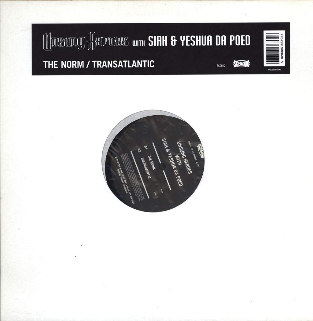 "Unsung Heroes: The Norm / Transatlantic, 12"" Maxi Single (Vinyl)"