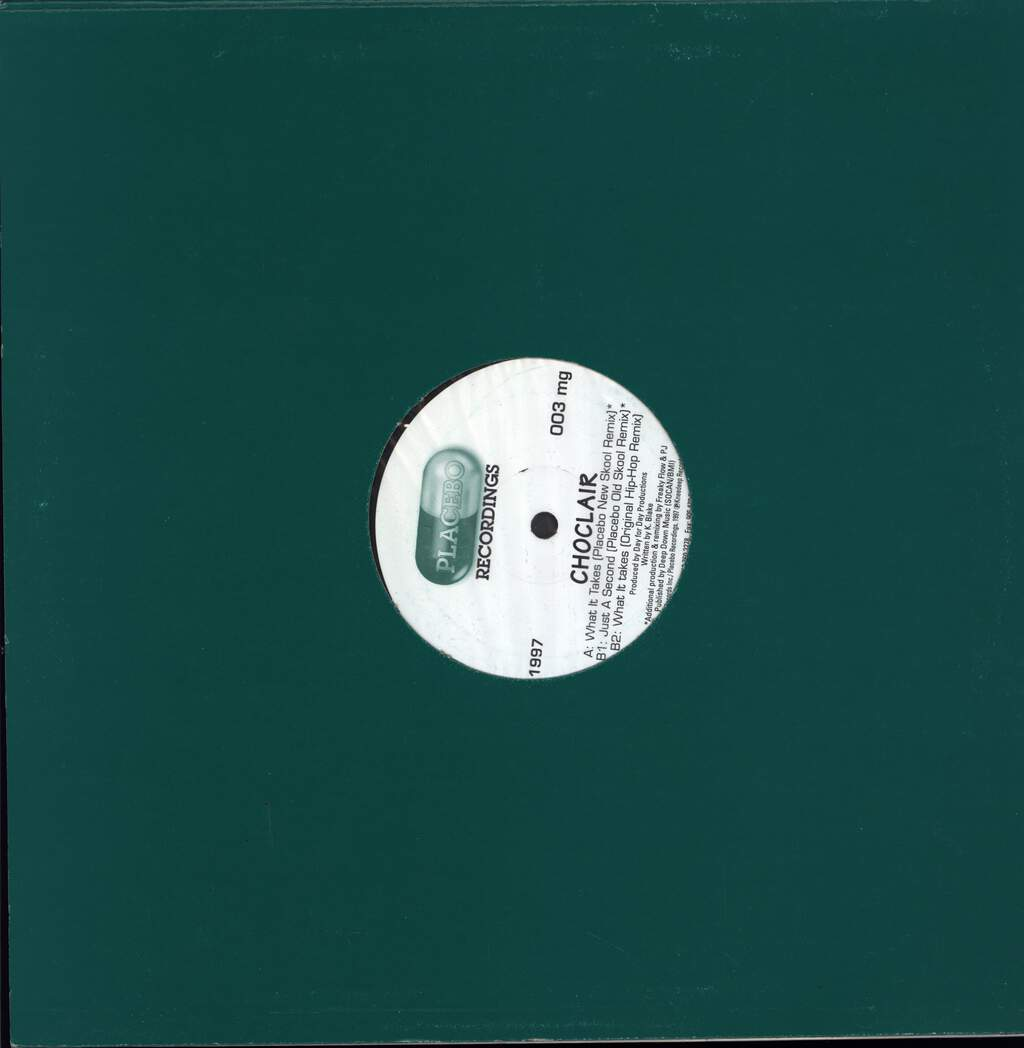 "Choclair: What It Takes - The Official Remixes, 12"" Maxi Single (Vinyl)"