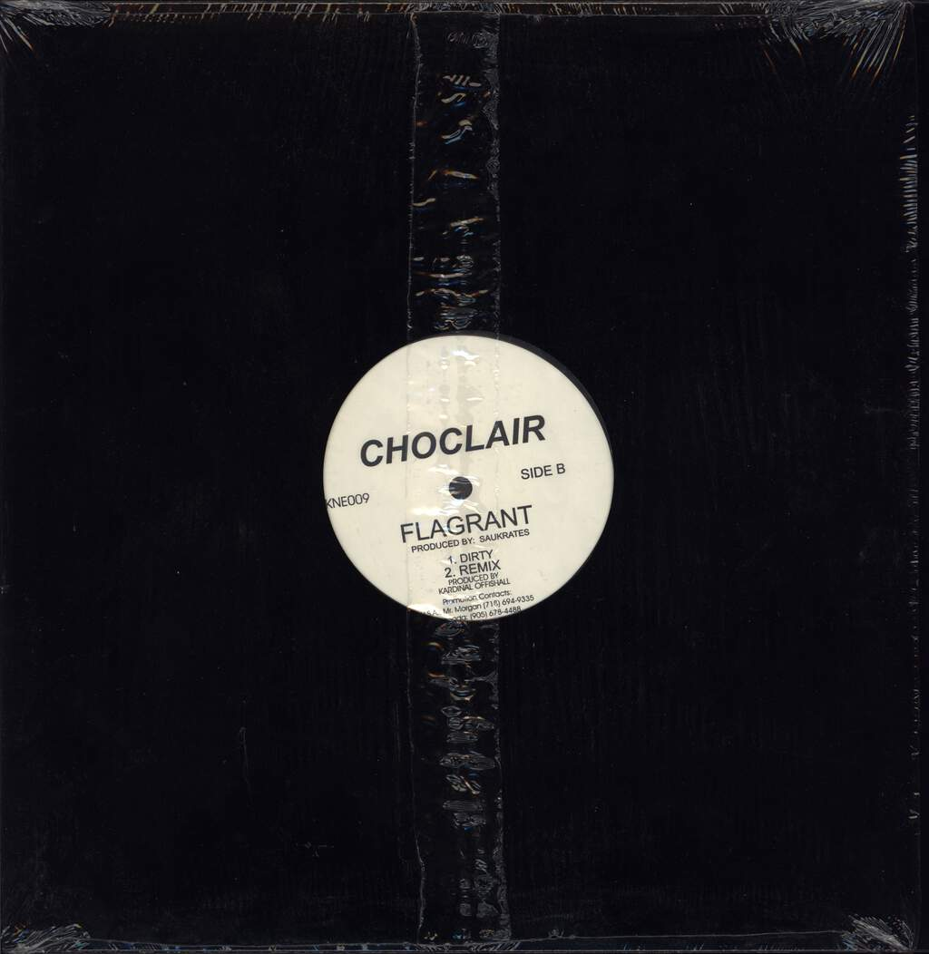 "Choclair: Flagrant, 12"" Maxi Single (Vinyl)"