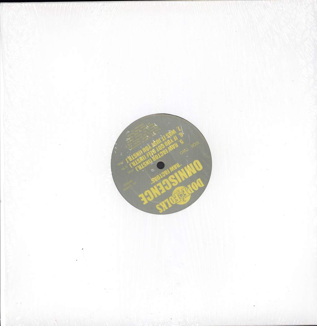"Omniscence: Raw Factors, 12"" Maxi Single (Vinyl)"