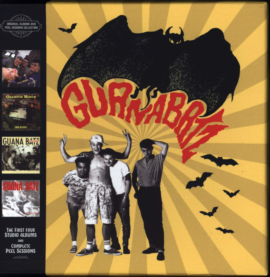The Guana Batz: Original Albums And Peel Sessions Collection, CD