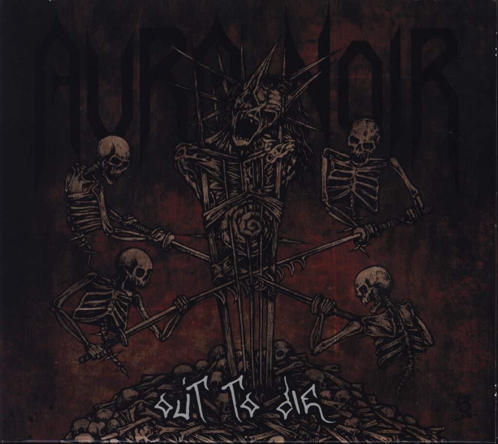 Aura Noir: Out To Die, CD
