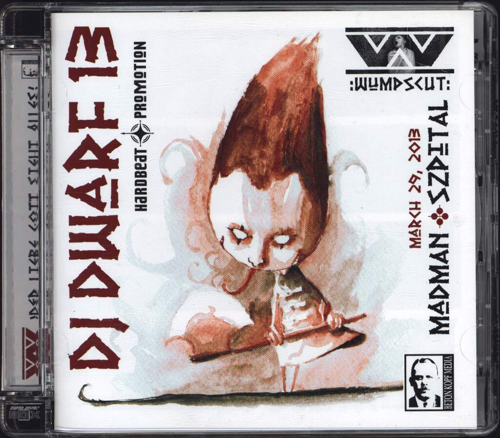 Wumpscut: DJ Dwarf 13, Mini CD