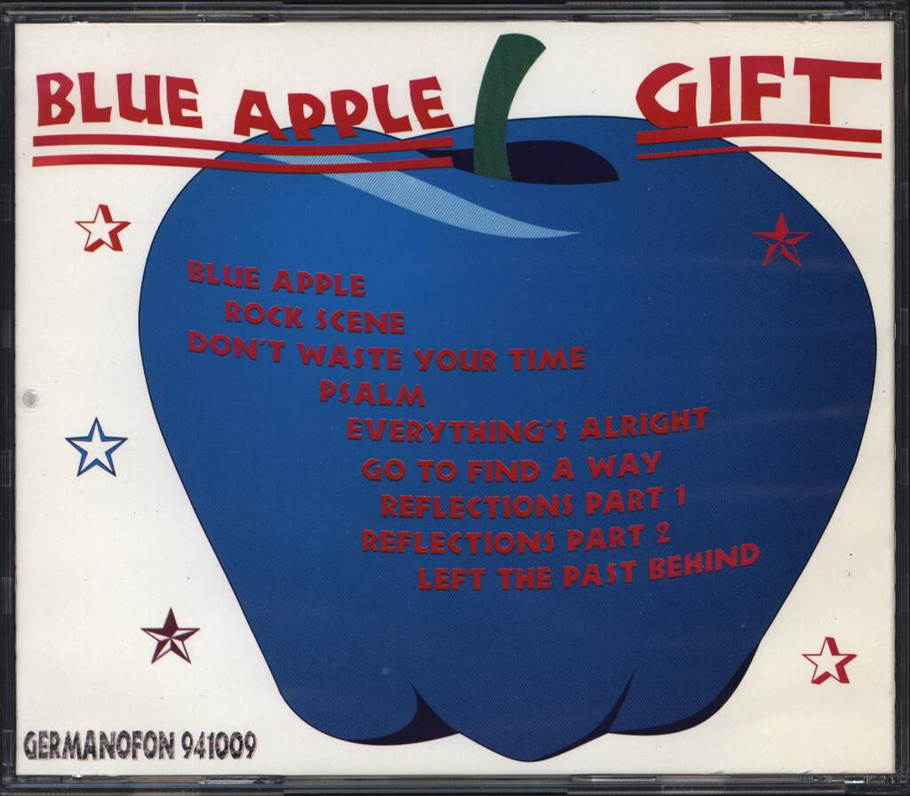 Gift: Blue Apple, CD