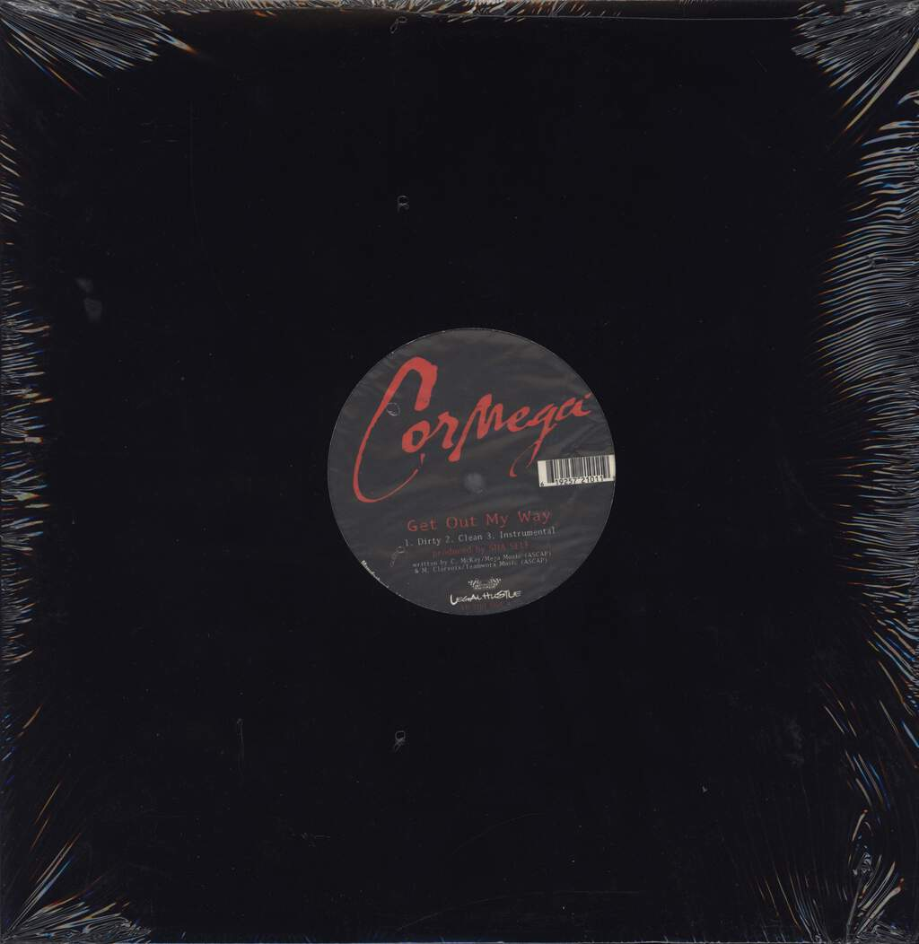 "Cormega: Get Out My Way / R U My Nigga?, 12"" Maxi Single (Vinyl)"