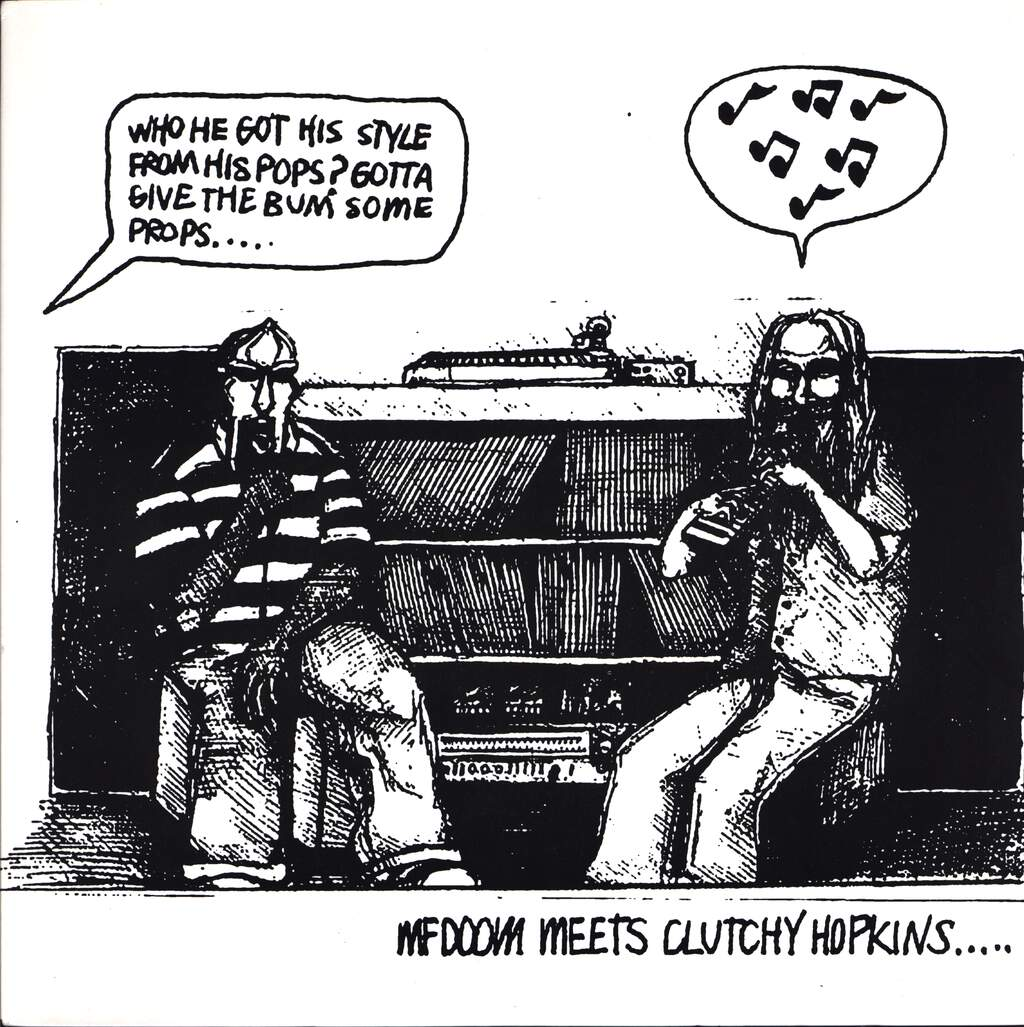 "Mf Doom: MF Doom Meets Clutchy Hopkins...., 12"" Maxi Single (Vinyl)"