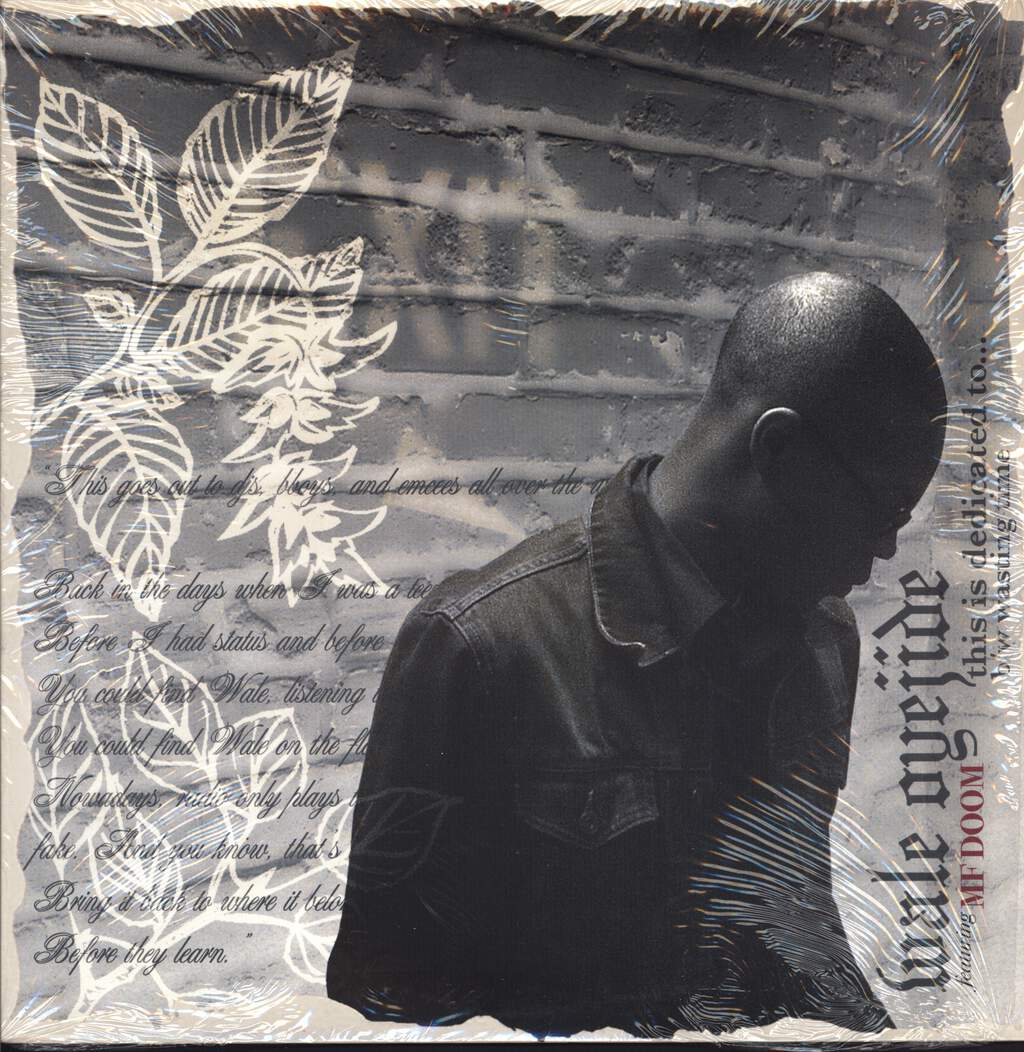 "Wale Oyejide: This Is Dedicated To... / Wasting Time, 12"" Maxi Single (Vinyl)"