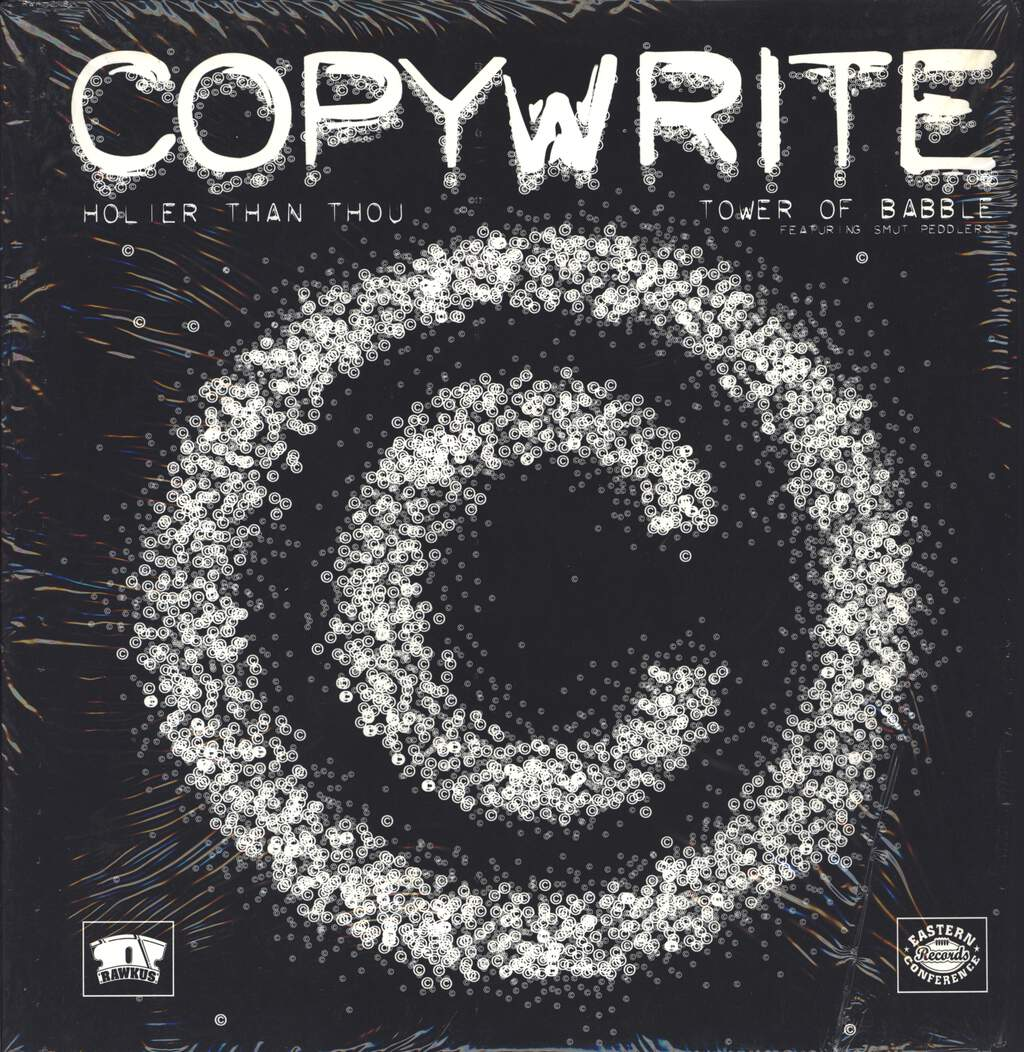 "Copywrite: Holier Than Thou, 12"" Maxi Single (Vinyl)"