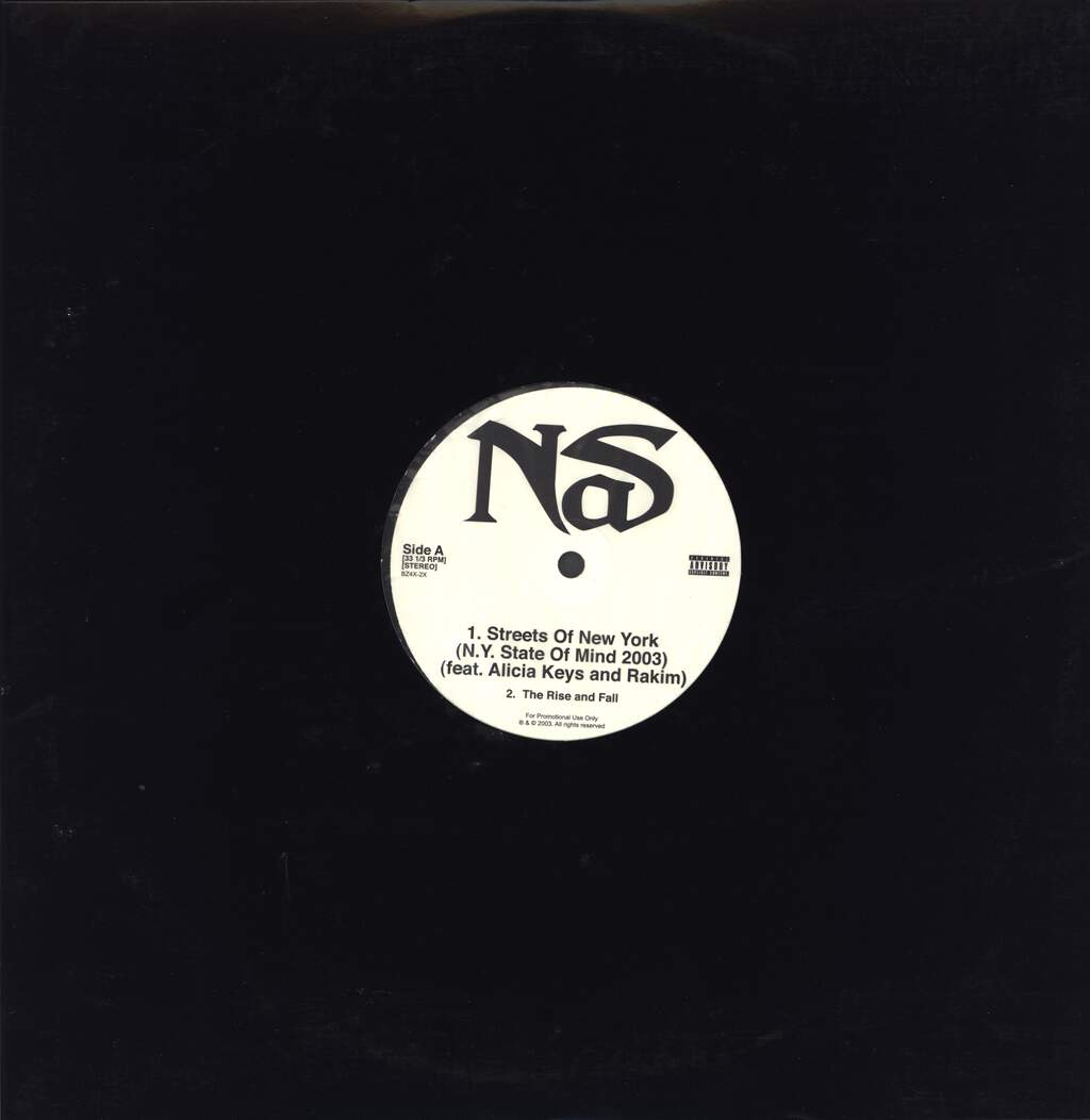 "Nas: Streets Of New York EP, 12"" Maxi Single (Vinyl)"