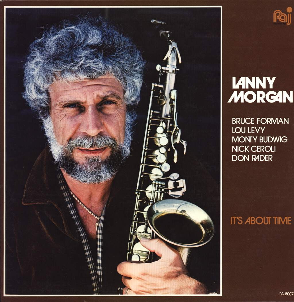 Lanny Morgan: It's About Time, LP (Vinyl)