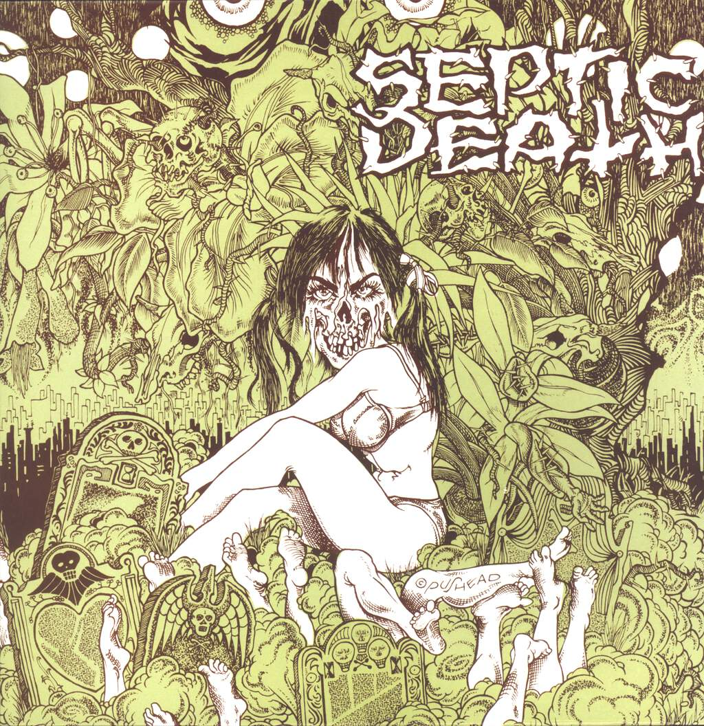 "Septic Death: Need So Much Attention... Acceptance Of Whom, 12"" Maxi Single (Vinyl)"