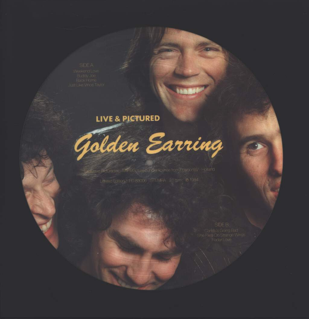 Golden Earring: Live & Pictured, LP (Vinyl)