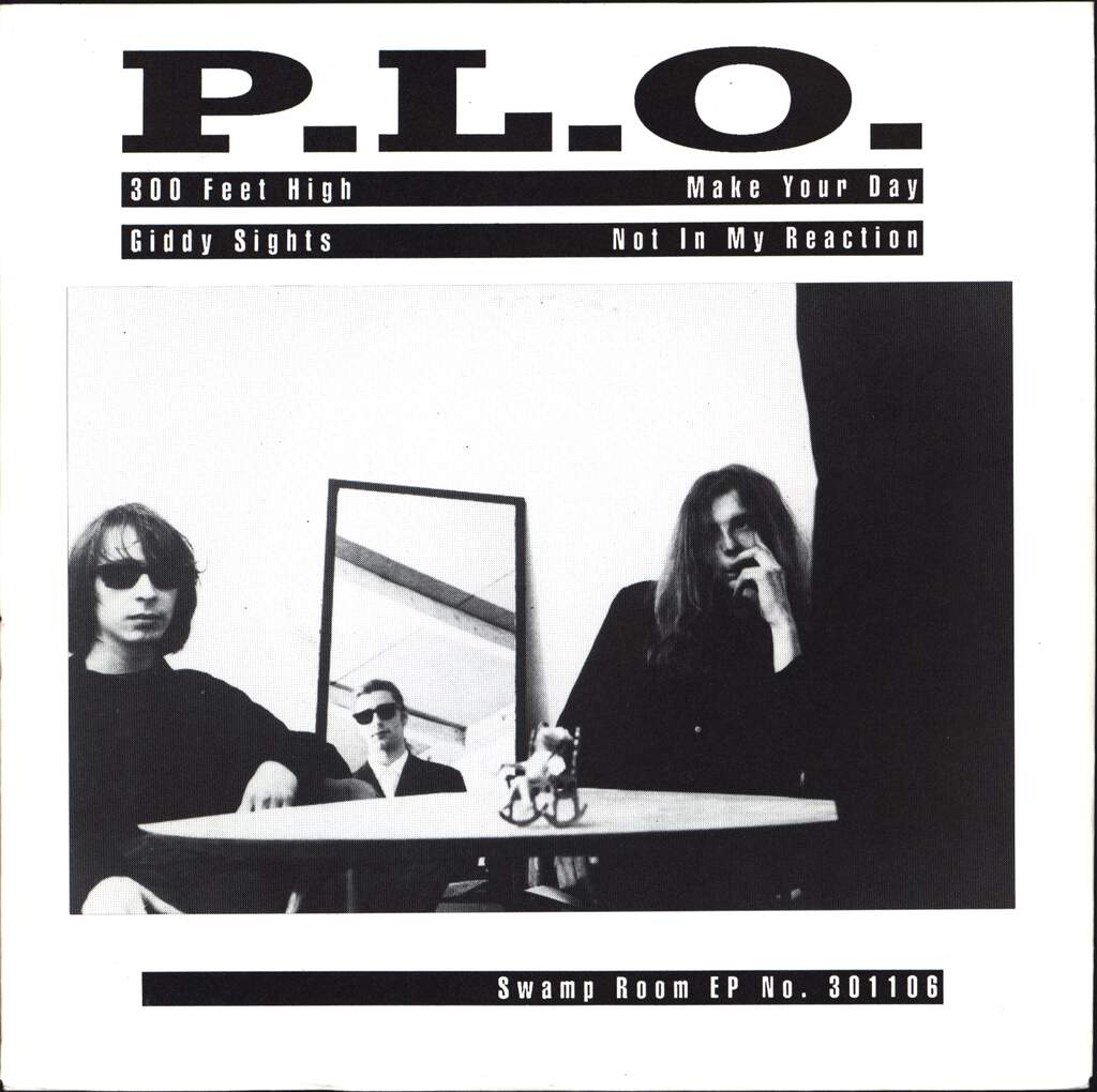 "P.L.O.: 300 Feet High EP, 7"" Single (Vinyl)"