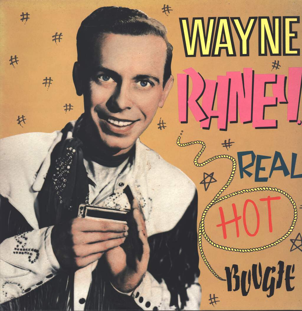 Wayne Raney: Real Hot Boogie, LP (Vinyl)