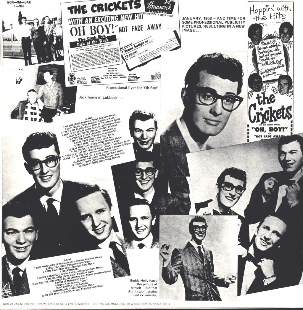 Buddy Holly: Historical Recordings Undubbed And Unreleased Versions, LP (Vinyl)