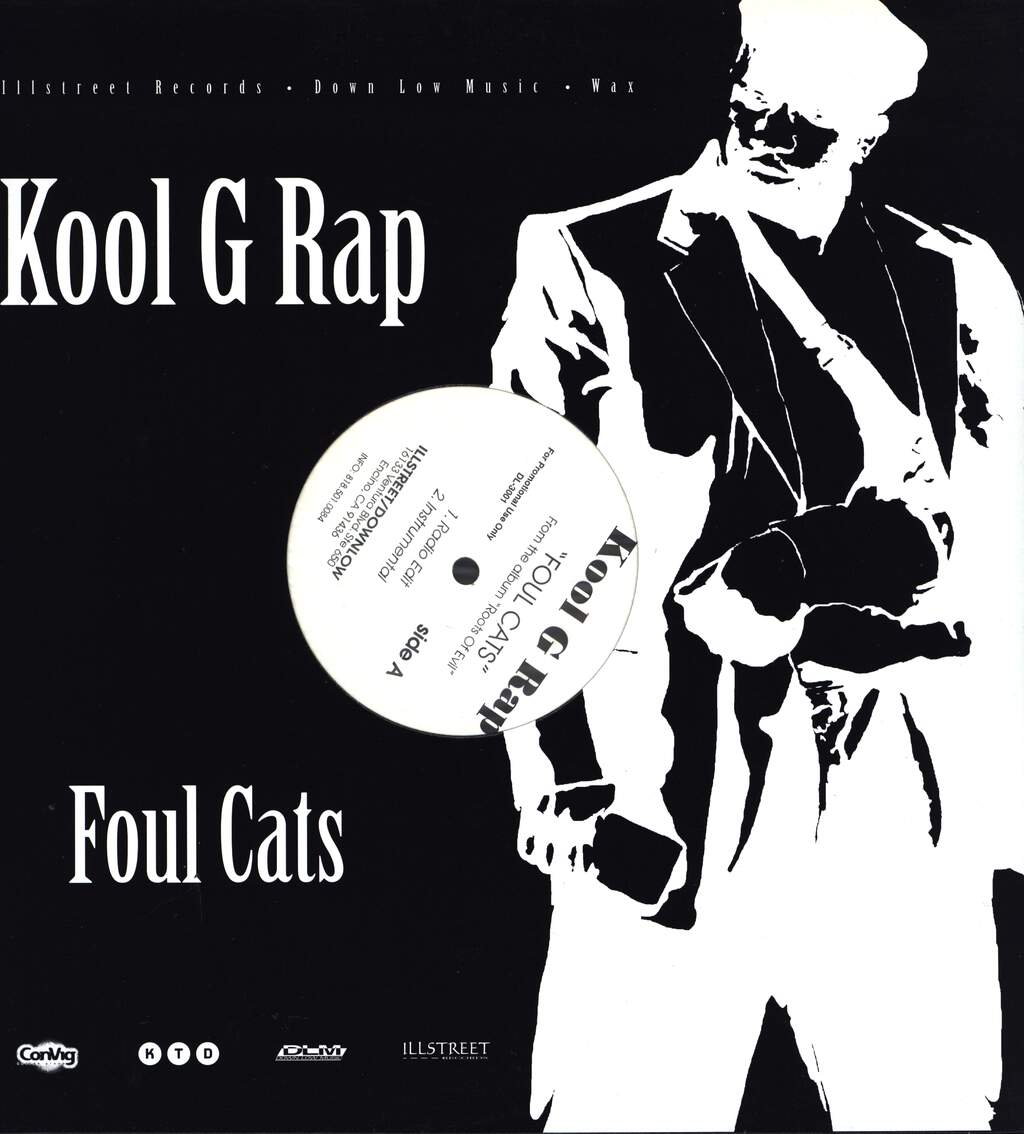 "Kool G Rap: Foul Cats, 12"" Maxi Single (Vinyl)"