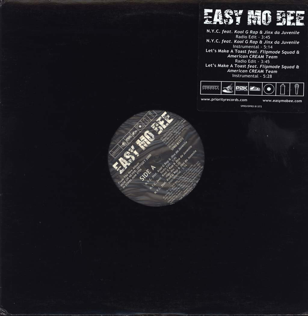 "Easy Mo Bee: N.Y.C., 12"" Maxi Single (Vinyl)"