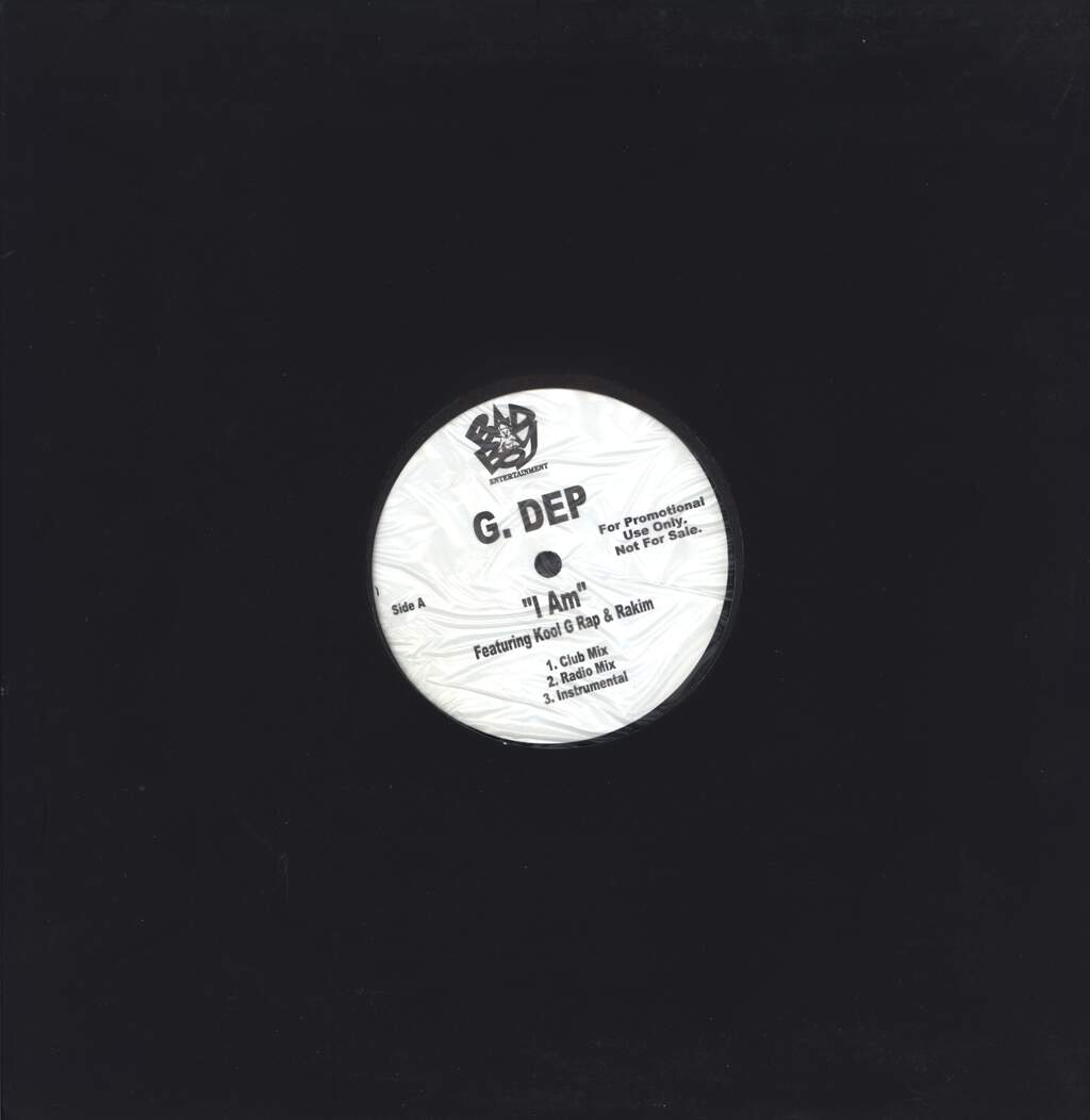 "G. Dep: I Am / Doe Fiend, 12"" Maxi Single (Vinyl)"
