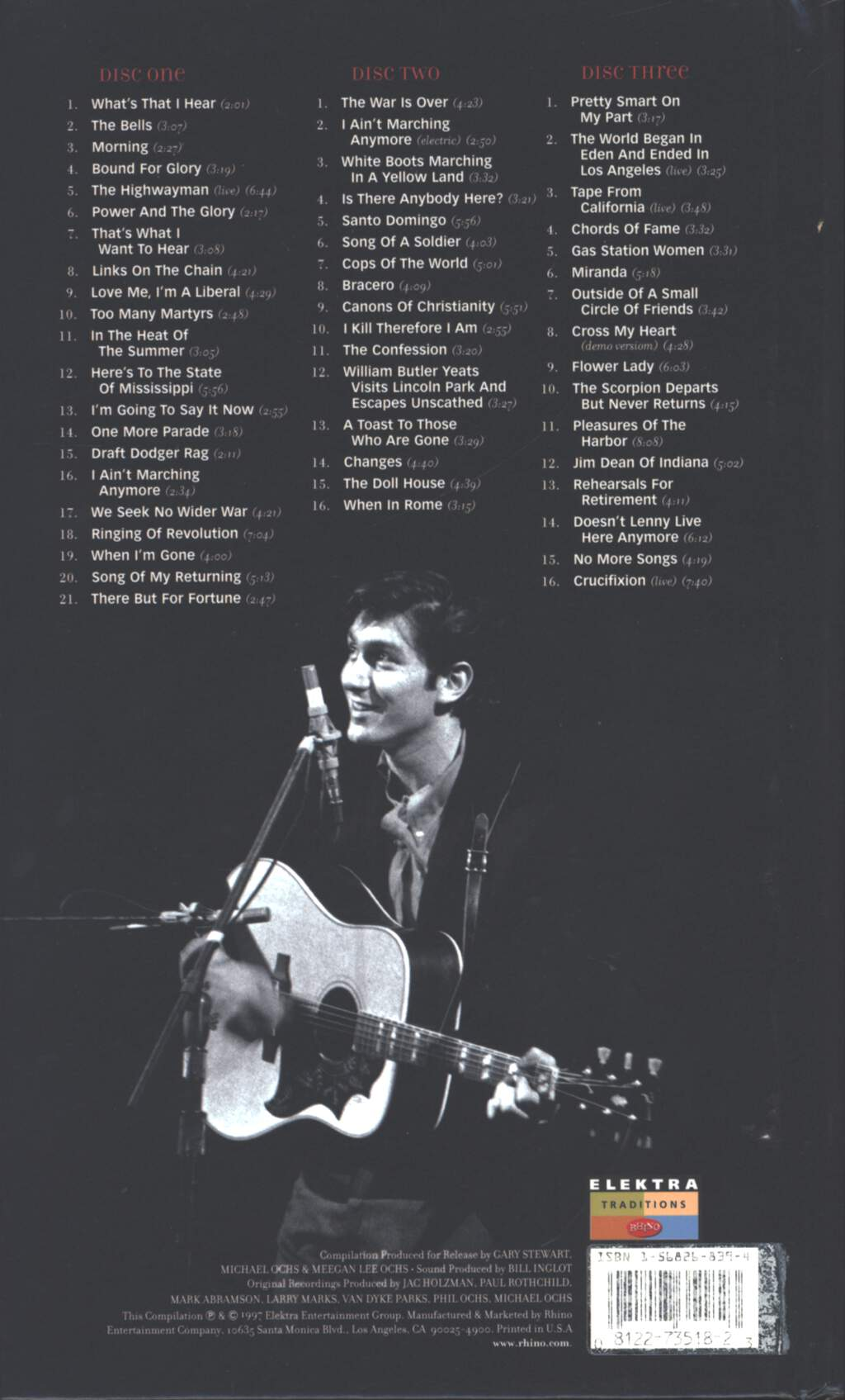 Phil Ochs: Farewells & Fantasies, CD