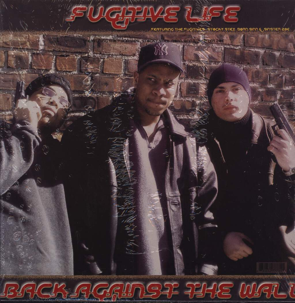 "The Fugitives: Back Against The Wall, 12"" Maxi Single (Vinyl)"