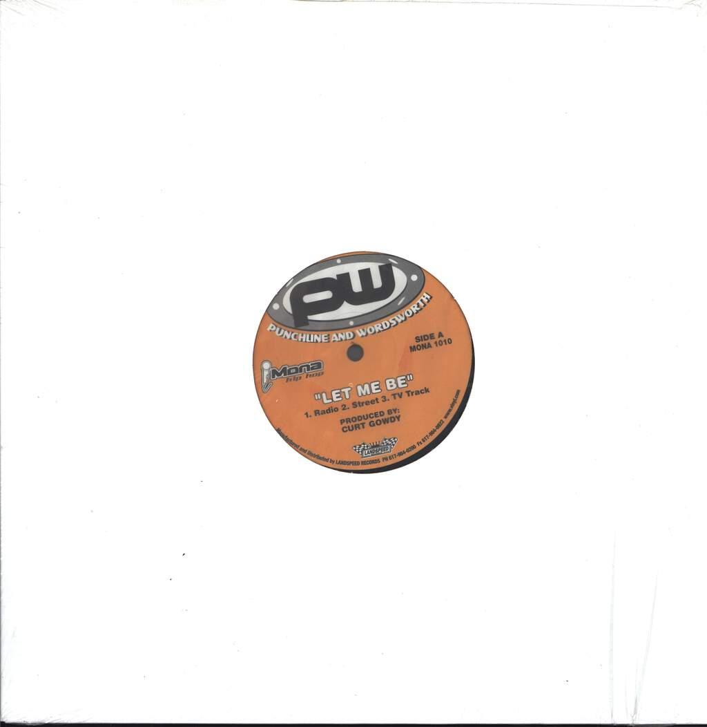 "Punch & Words: Let Me Be / I-95, 12"" Maxi Single (Vinyl)"