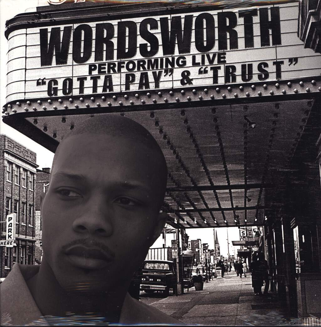 "Wordsworth: Gotta Pay / Trust, 12"" Maxi Single (Vinyl)"